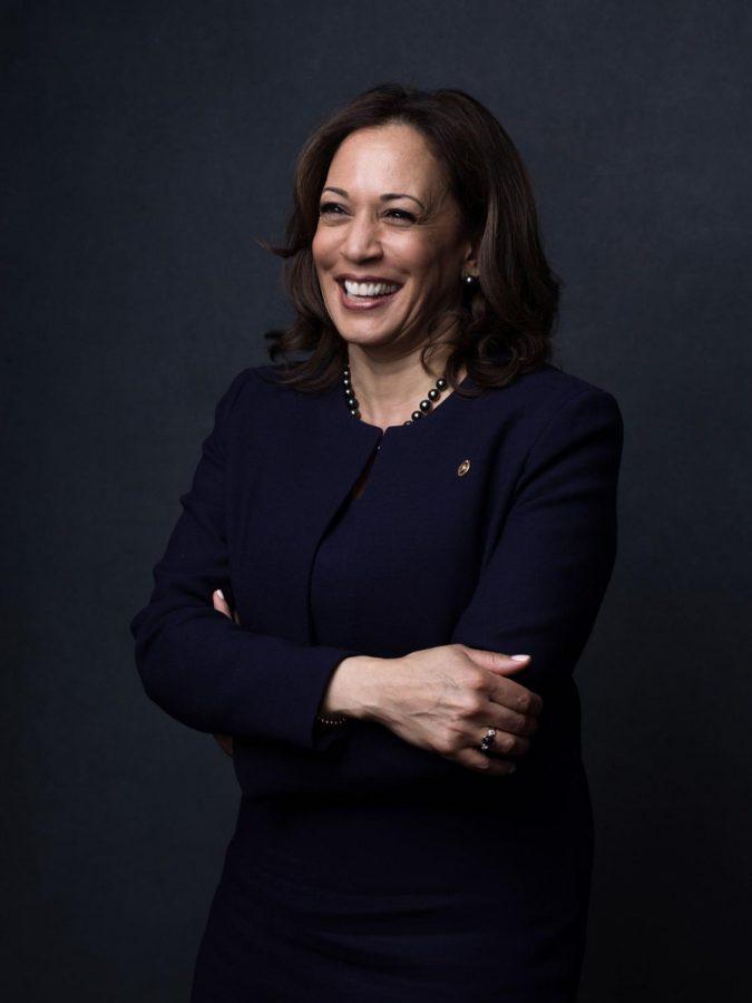Current Vice President of the United States, Kamala Harris.