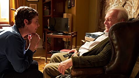 Oliva Coleman and Anthony Hopkins star in The Father.